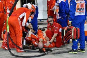 El mecánico atropellado por Raikkonen en el GP de Baréin ya se recupera