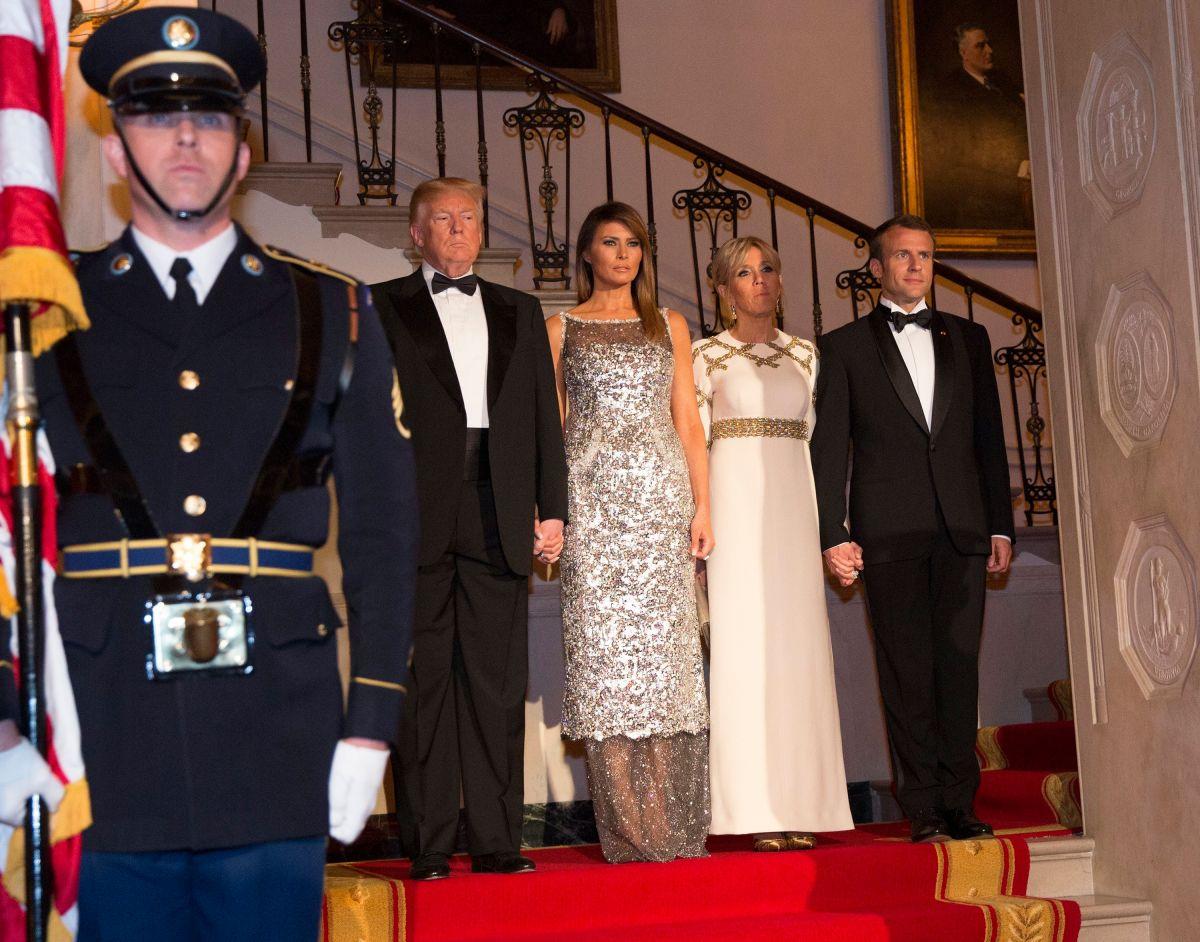 ¿Por qué Melania Trump fue lo mejor de la visita de Emmanuel Macron a EEUU?