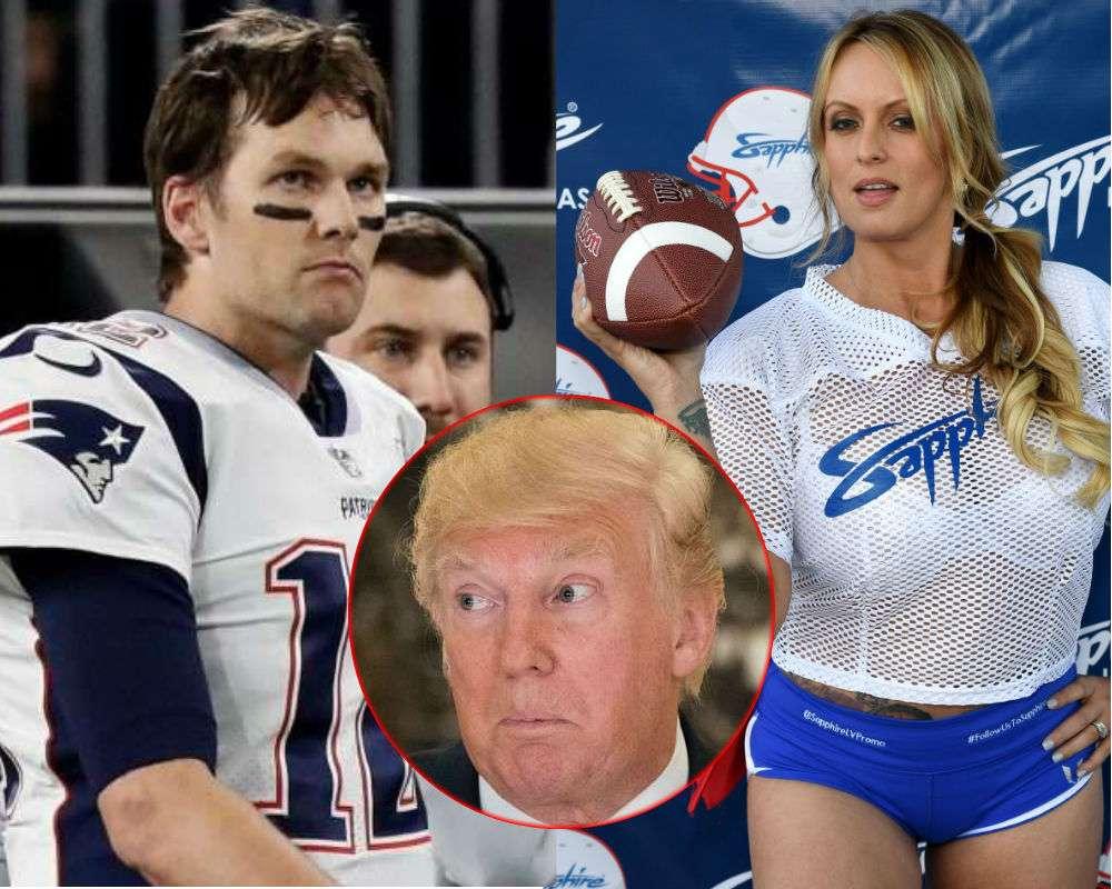 ¿Quiso Tom Brady silenciar a Stormy Daniels sobre su relación con Trump?