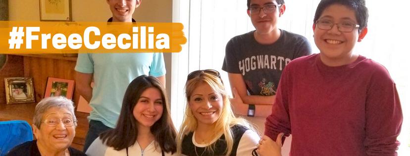 Los tres hijos de Cecilia Gómez son ciudadanos estadounidenses.