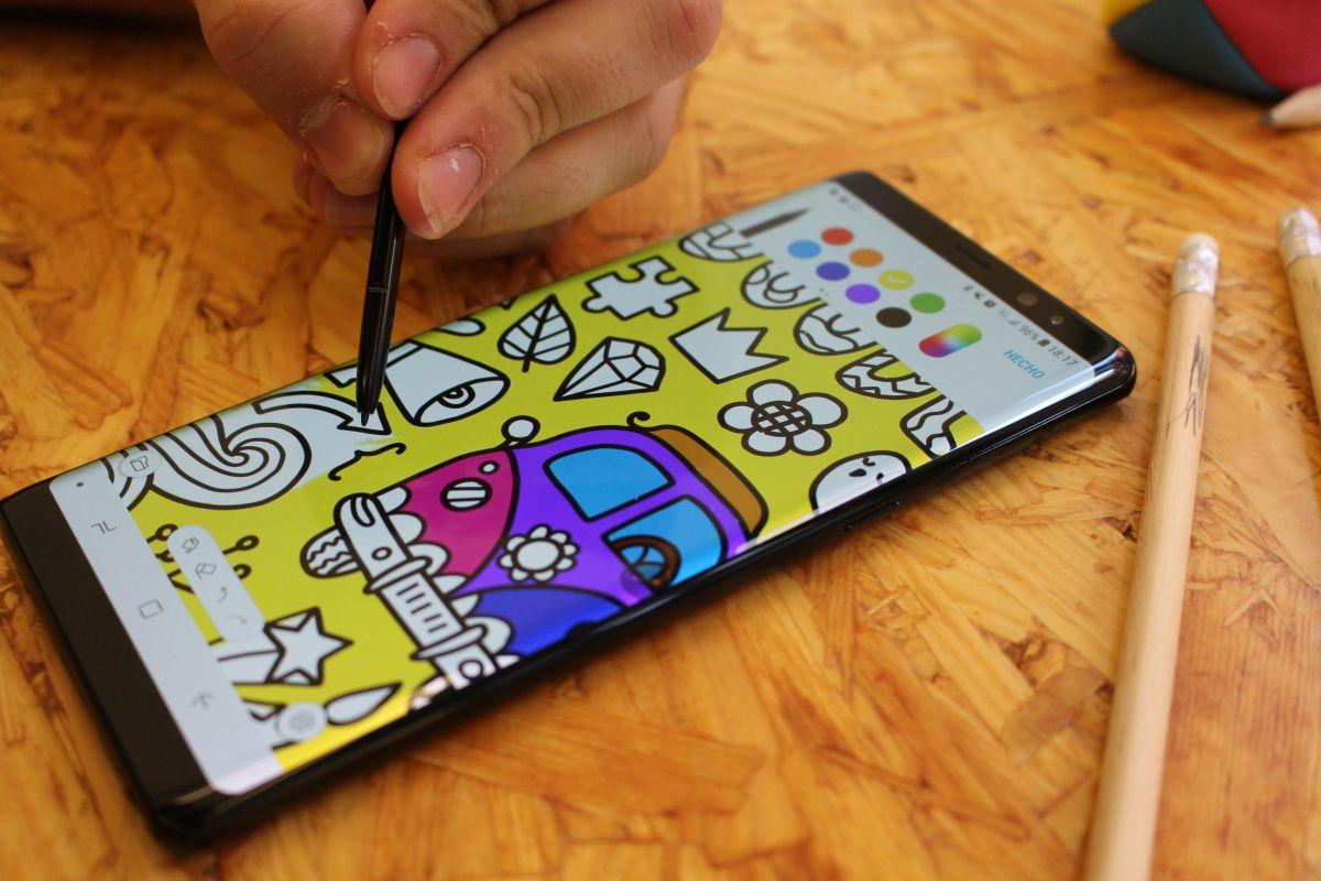 El Samsung Galaxy Note 8 es hermoso y de los mejores Android