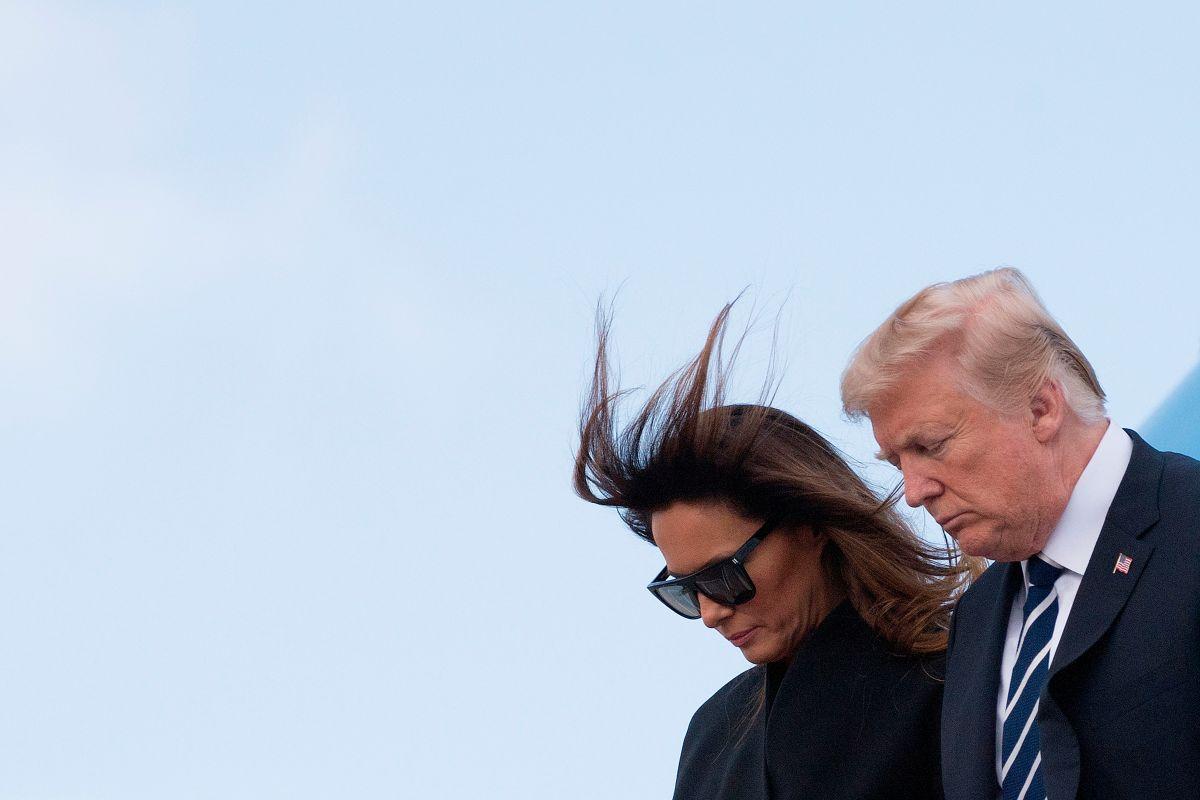 El día que Melania terminó con Donald Trump