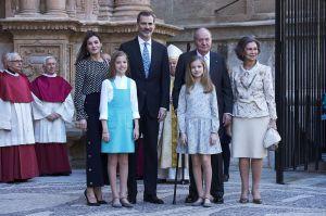 Video: La tensa escena entre la reina Letizia y la reina Sofía