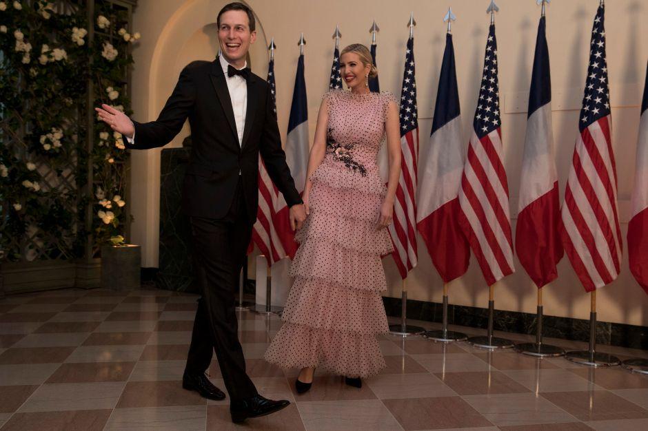 Ivanka Trump y su polémico vestido en la Cena de Estado