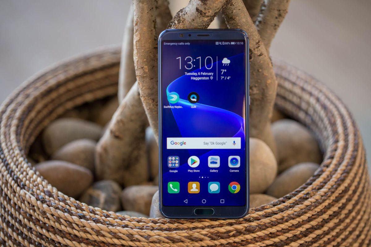 Huawei Honor V10: un teléfono bello con cualidades de alta gama