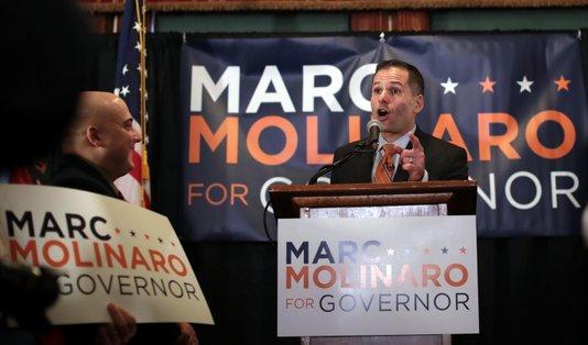 """Molinaro formalizó precandidatura republicana a gobernación; Cuomo lo llama """"mini Trump"""""""