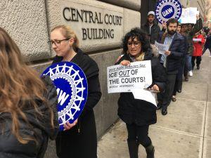 Abogados reforzarán lucha para que 'La Migra' se vaya de cortes de NYC