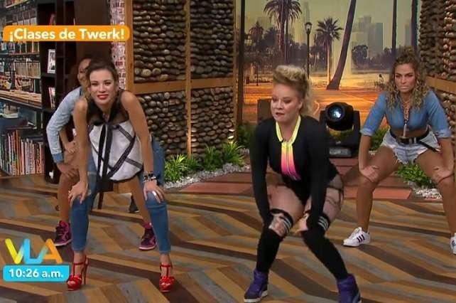 Video: Destrozan a Ingrid Coronado en YouTube por su forma de bailar 'twerking'