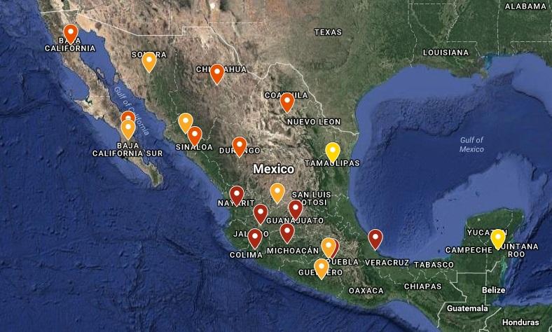 Los 3 cárteles de la droga más poderosos en México