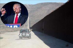 Trump militarizará la frontera con las Fuerzas Armadas hasta que se construya el muro fronterizo
