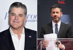 El pleitazo entre Jimmy Kimmel y presentador de Fox News por Melania Trump