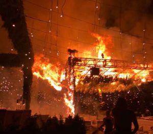 """Causan incendio para cobrar el seguro y ahora enfrentan """"todo el peso de la ley"""""""