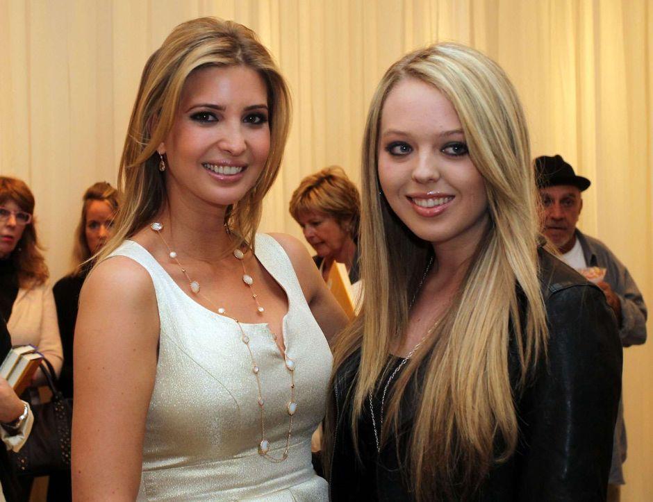 El error de Ivanka Trump sobre el cumpleaños de su hermana Tiffany