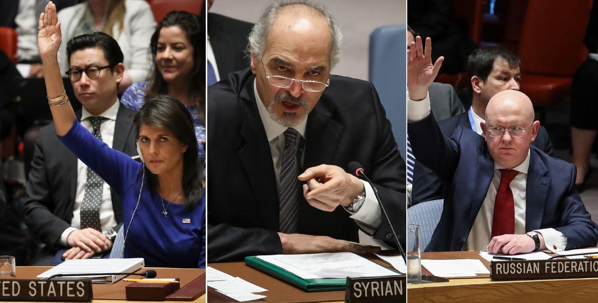 """ONU advierte que tras ataques en Siria la """"Guerra Fría"""" ha vuelto por la """"revancha"""""""