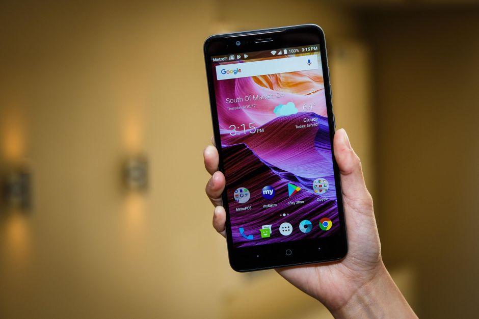 ZTE Blade Z Max, un celular barato con cámara doble y enorme batería