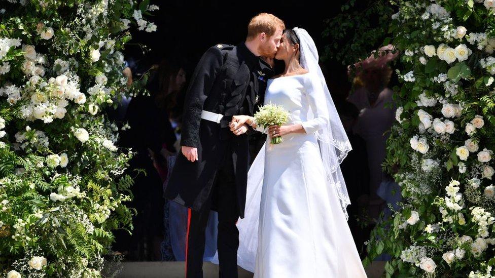 Las mejores imágenes de la boda real del príncipe Harry y Meghan Markle