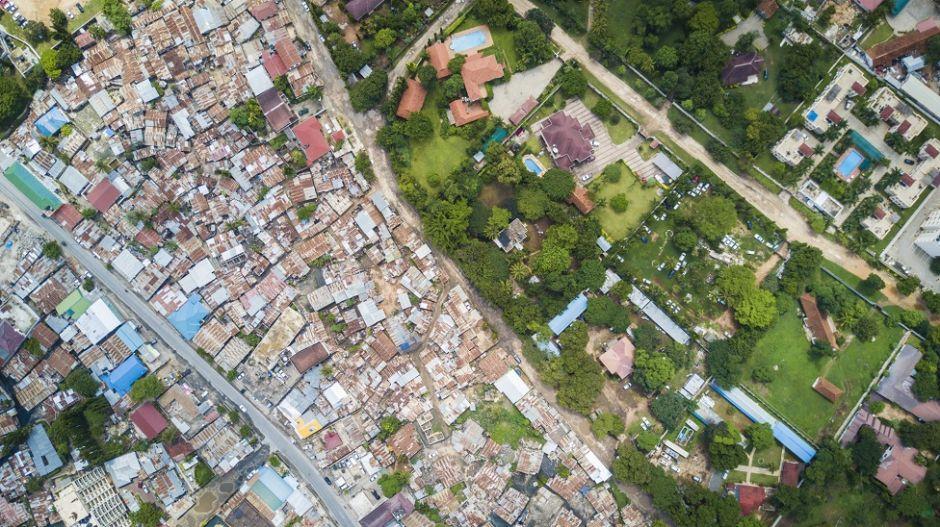 En fotos: así se ve la desigualdad desde el aire