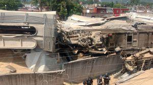 Varios heridos al chocar dos trenes en México