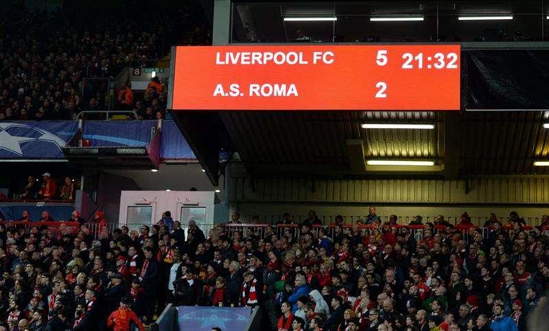 Roma vs. Liverpool, semifinales Champions League, horario y canales de TV