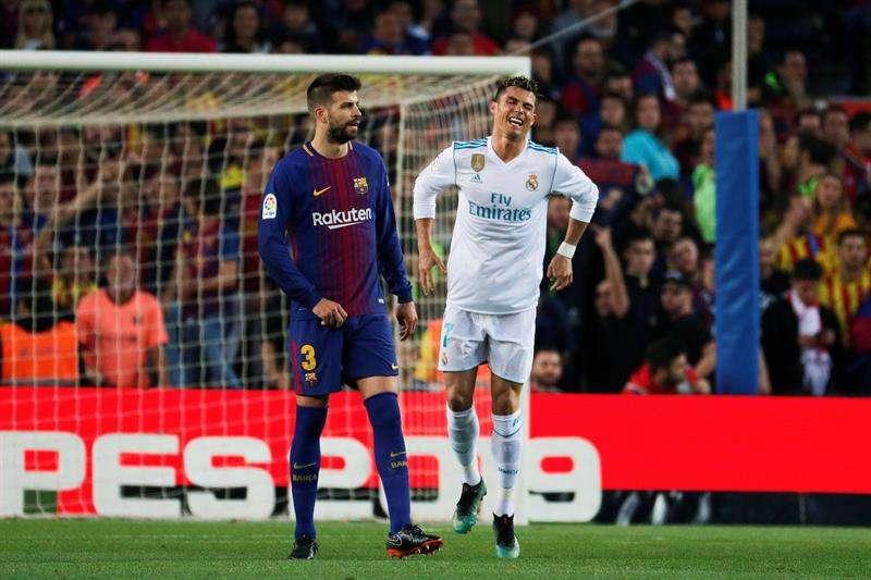 Alarma en Real Madrid: Cristiano Ronaldo se lesiona en El Clásico
