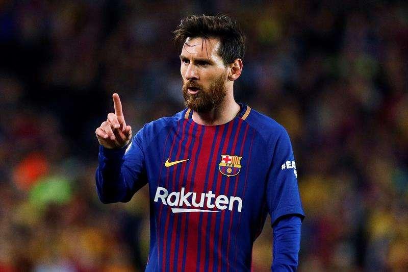 VIDEO: Messi por poco rompe a Sergio Ramos en El Clásico