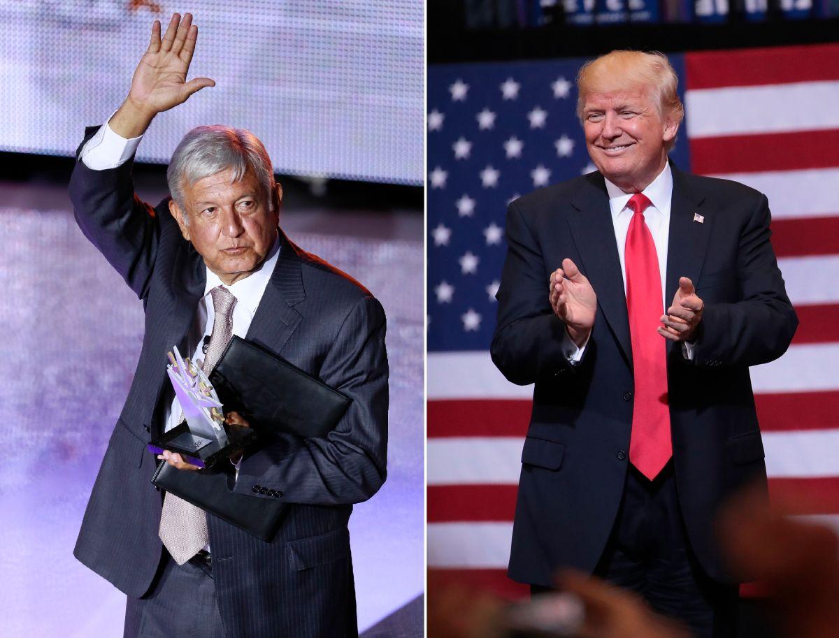 AMLO reconoce parecerse a Trump en dos aspectos