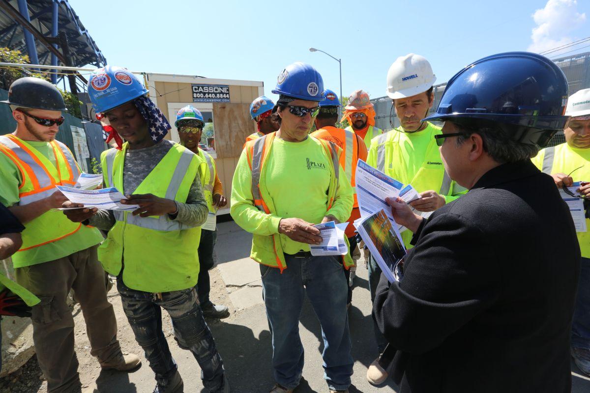 La construcción ha ganado 282,000 empleos en lo que va de año./Mariela Lombard