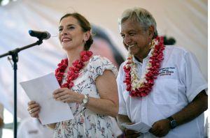 Esposa de López Obrador propone terminar con la figura de Primera Dama