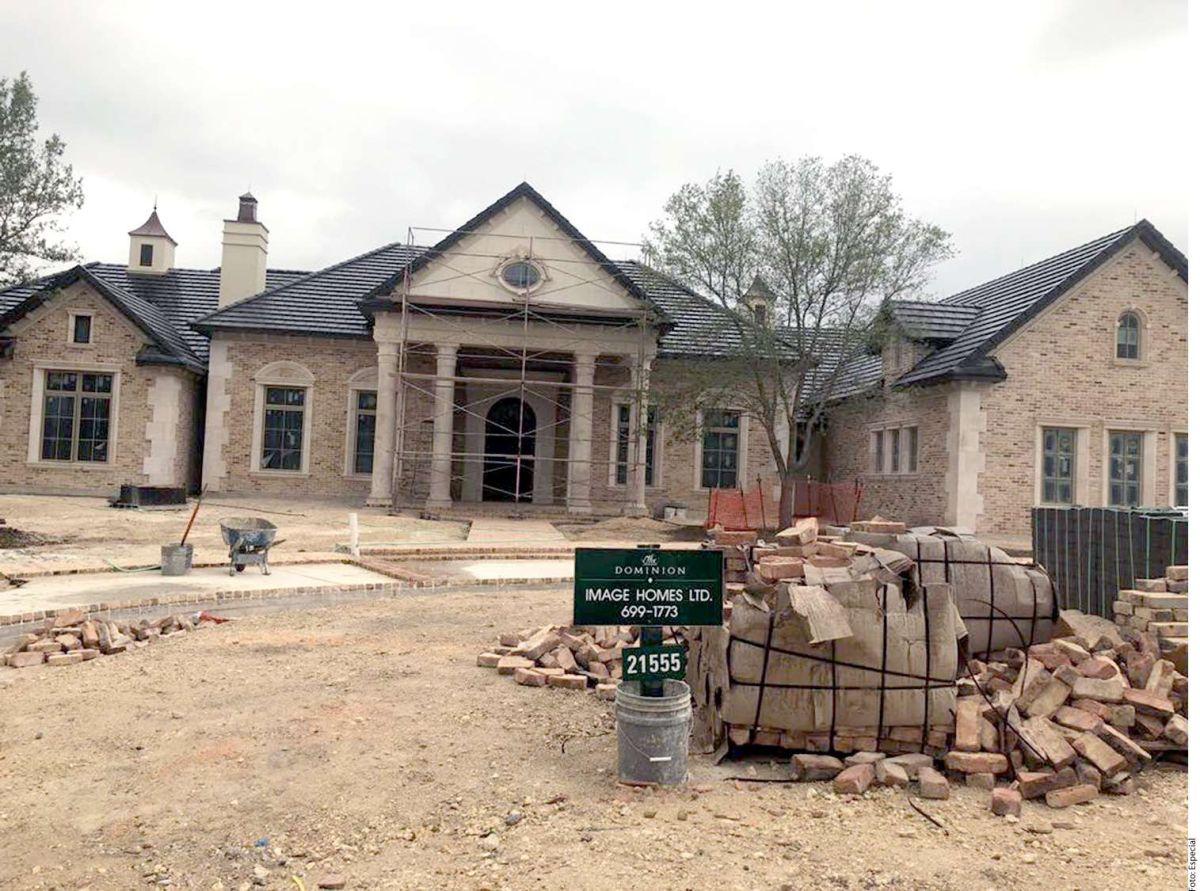 Las mansiones que construyen en EEUU