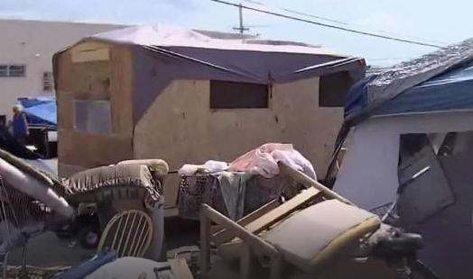 Policía de Miami desaloja campamento de depredadores sexuales