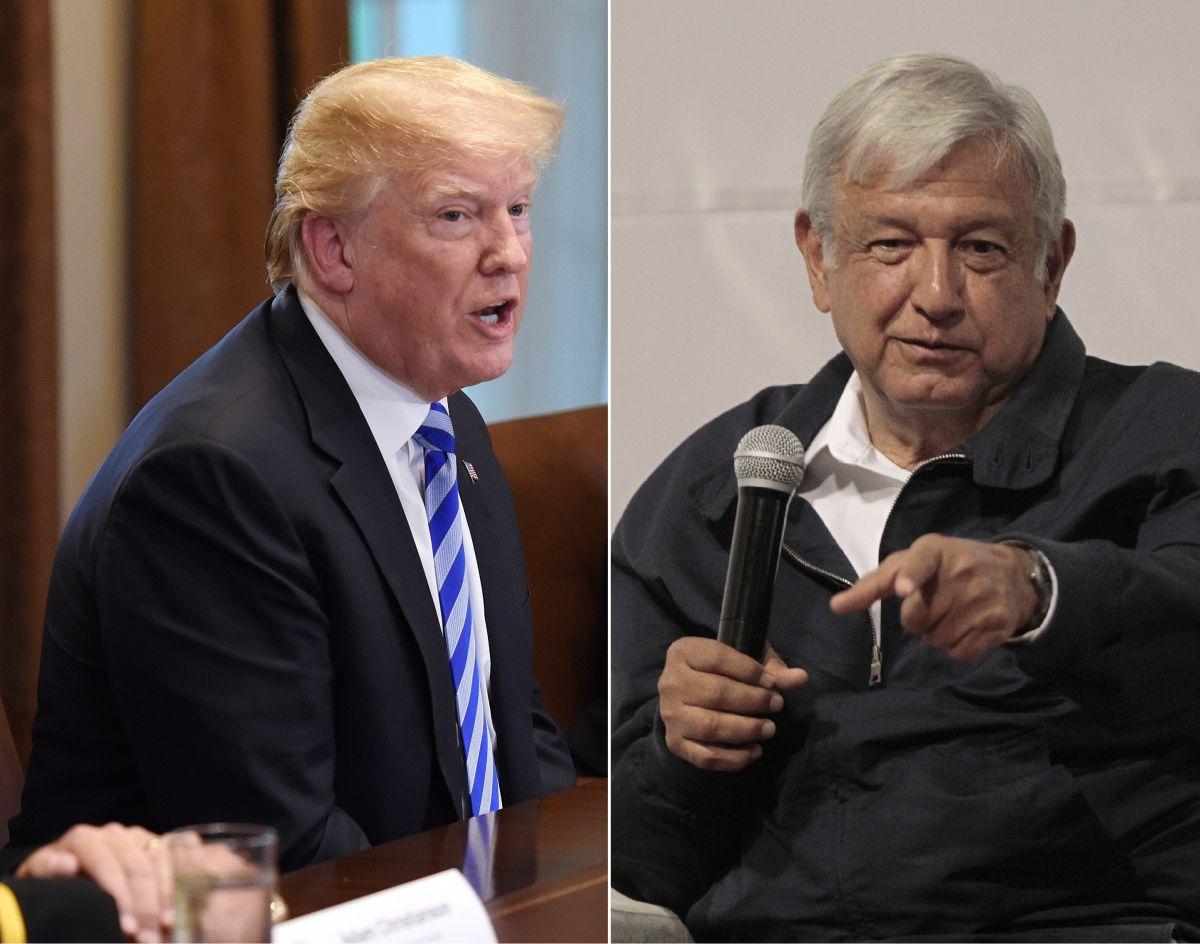 AMLO usa a Trump como ejemplo para defender su guerra contra altos salarios de jueces