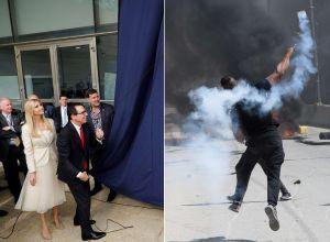EEUU inaugura embajada en Jerusalén en medio de sangrientas protestas