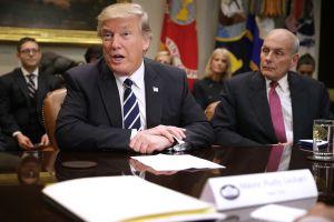 Trump ataca a su exjefe de Gabinete, John Kelly, por defender a inmigrantes