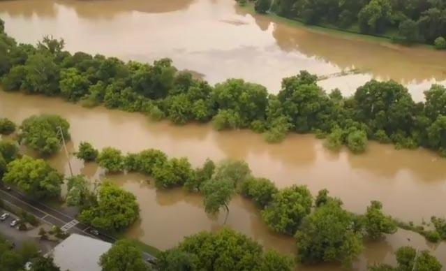 Ya van cuatro muertos en Carolina del Norte por efectos de depresión Alberto