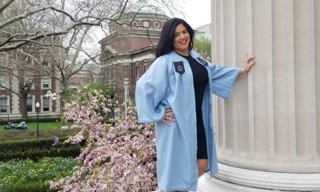 Dominicana sale de la cárcel y se gradúa en Columbia University
