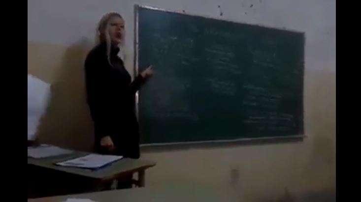 Video: Polémica por maestra que defendió a Hitler en plena clase