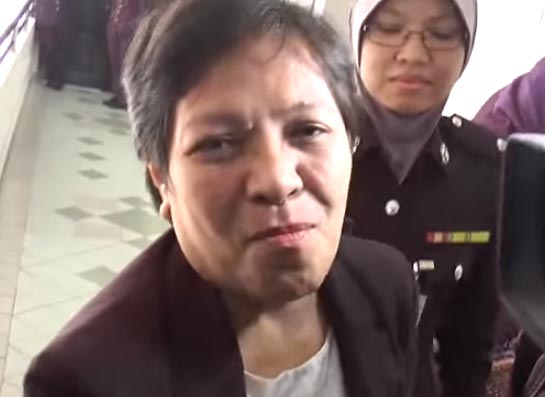 """""""Narco abuela"""" enfrenta pena de muerte en Malasia por tráfico de metanfetaminas"""