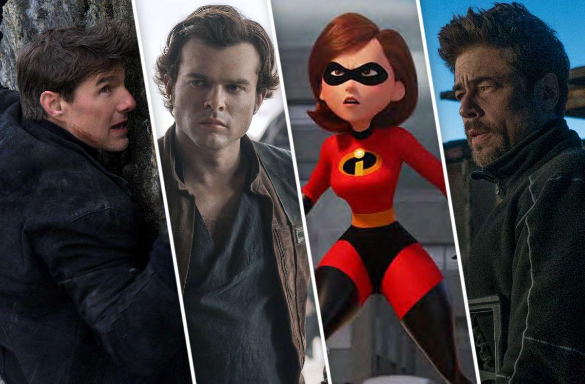 Las 10 películas que tienes que ver este verano 2018