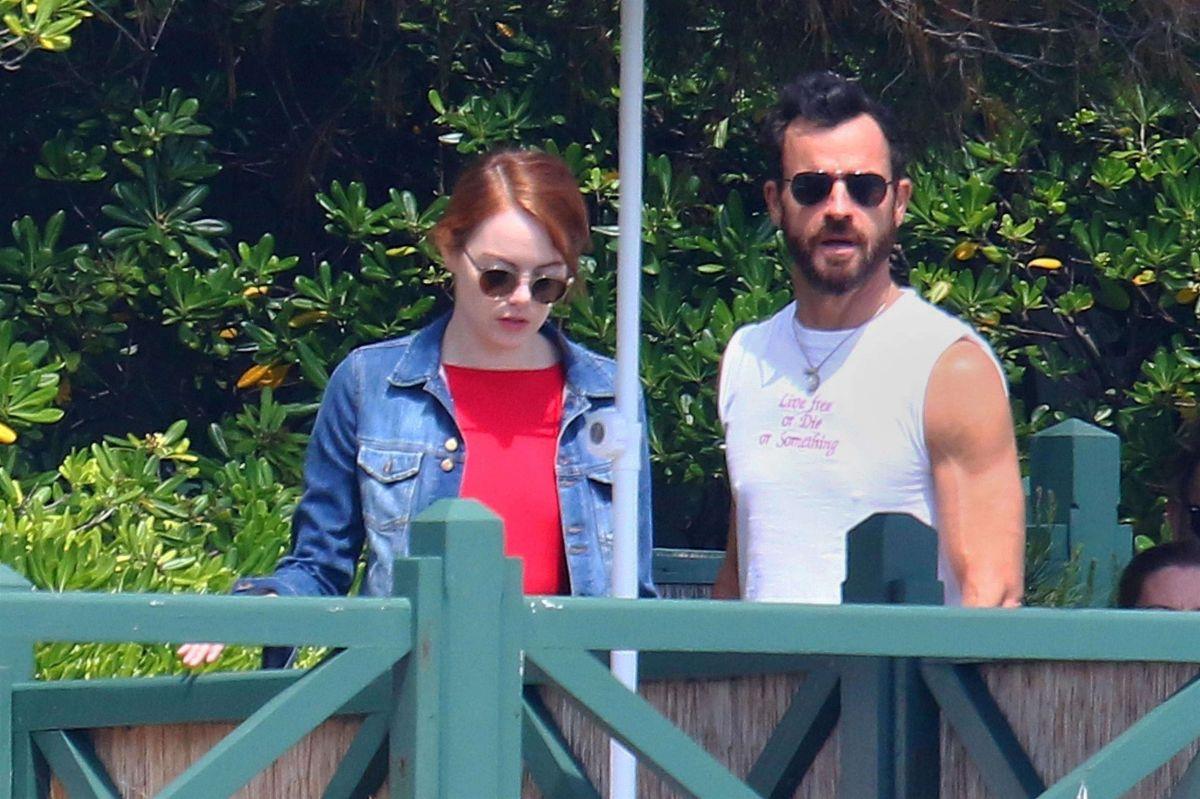 Fotos: ¿Es Emma Stone el nuevo amor de Justin Theroux?