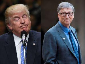 """Trump brilla por su ignorancia al preguntar """"dos veces"""" a Bill Gates diferencia entre HIV y HPV"""