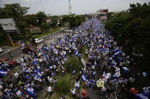 Nicaragua: Marcha por niños muertos termina con 9 heridos