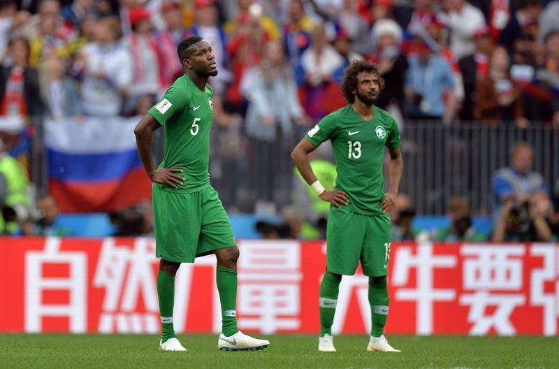 Gobierno de Arabia Saudí expresa furia con jugadores tras derrota 5-0