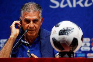 La extraña respuesta del técnico Carlos Queiroz a una pregunta sobre el VAR