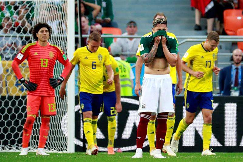 ¡Gracias Corea del Sur! México clasifica a octavos pese a ser goleado por Suecia