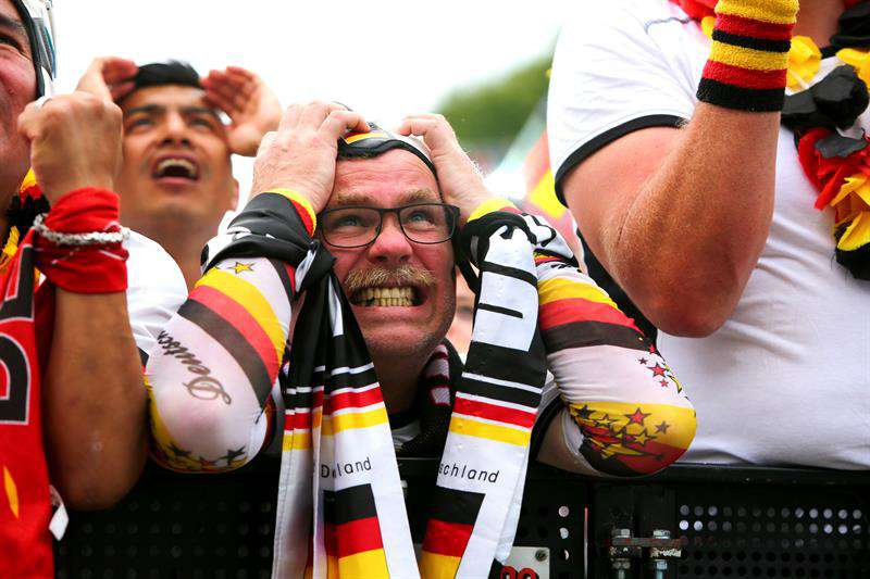 """Toda Alemania llora una """"desgracia histórica"""""""