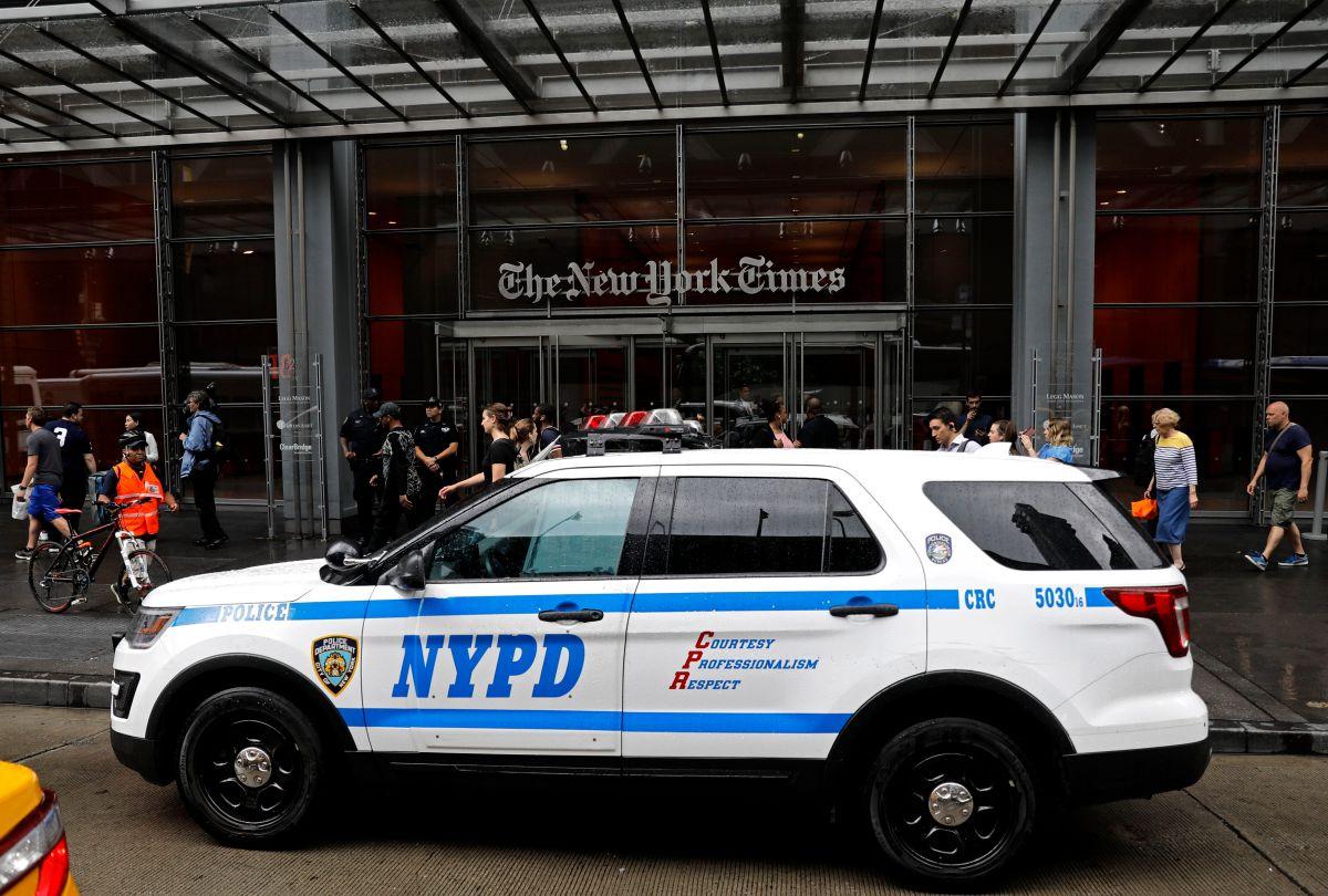 Medidas antiterroristas en medios de comunicación de NYC por tiroteo en Maryland