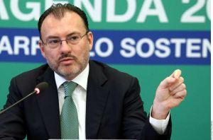 Canciller mexicano abordará separación de familias migrantes en EEUU