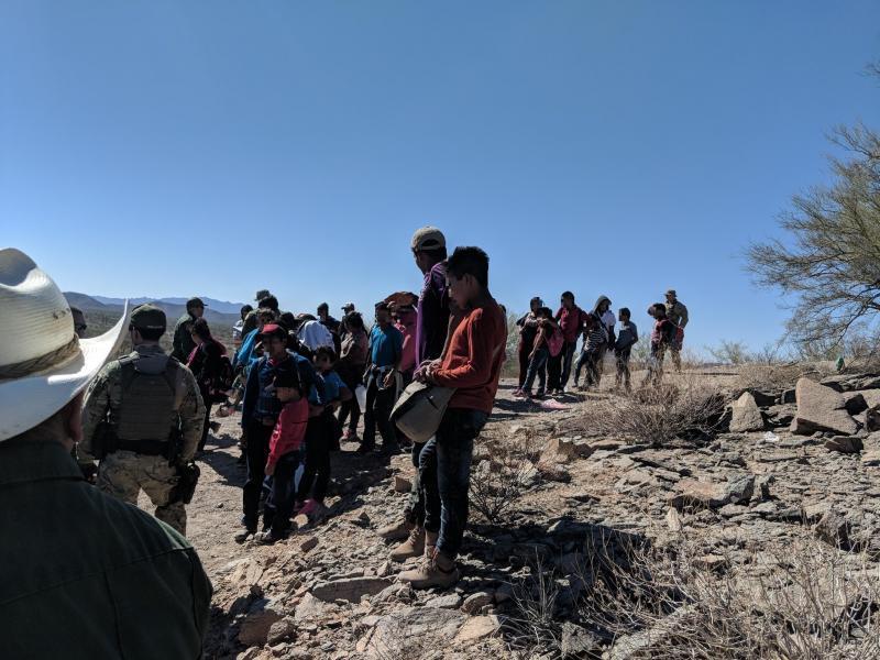 Los 57 inmigrantes que llamaron al 911 para ser rescatados