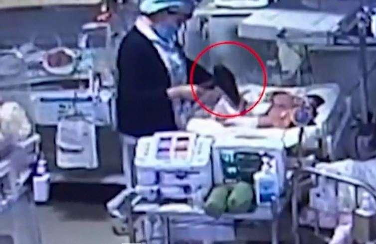 Video: Amputan pierna a recién nacido por quemarlo con una secadora de pelo