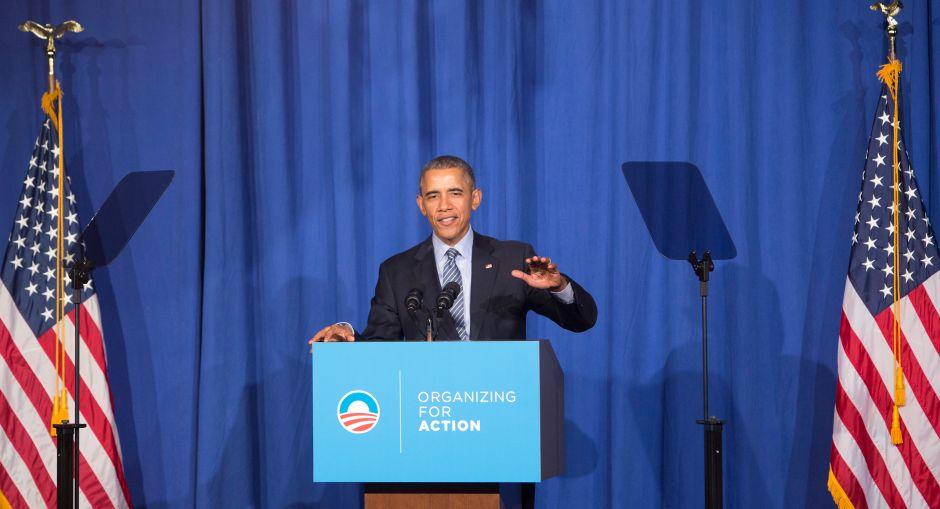 Grupo de Barack Obama avanza su influencia hacia las elecciones intermedias